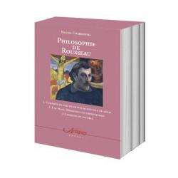 Philosophie de Rousseau (coffret de trois volumes)